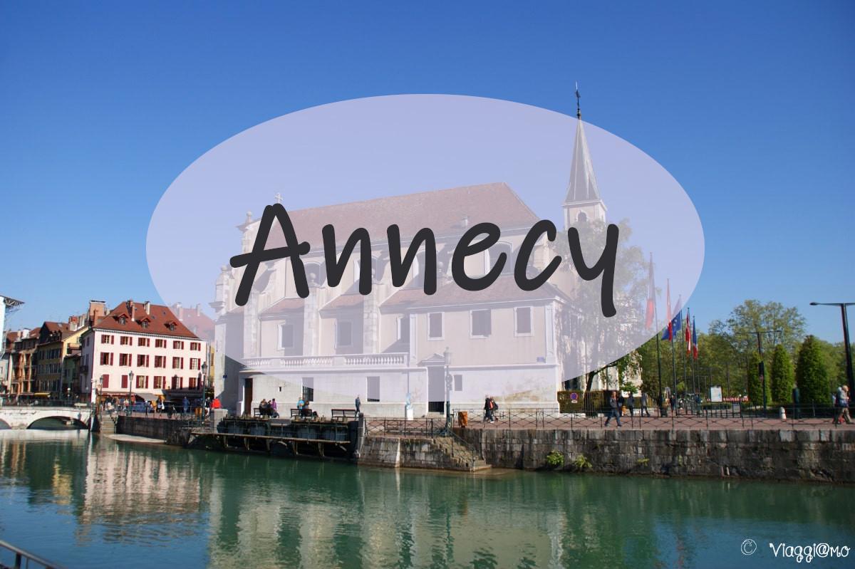 Annecy cosa vedere in città - camper