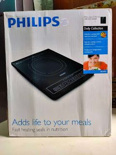 Masak Guna Induction Cooker aka Dapur Induksi Philips