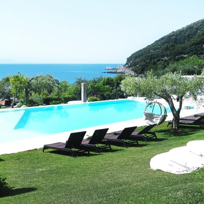 Lichnos beach hotel & suites bazen, luksuzni Parga hoteli