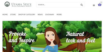 utama spice website review, haul and shopping experience