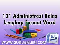 Download 131 Format Administrasi Kelas Lengkap Terbaru