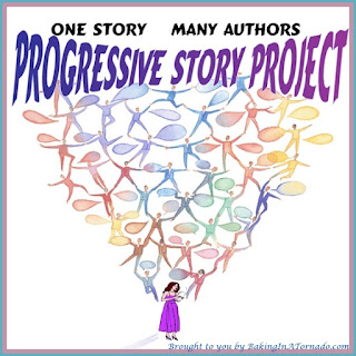 Progressive Story Project, a collaborative piece of fiction written by a number of bloggers | Developed by, run by and featured on www.BakingInATornado.com | #writers #fiction