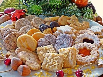 Christmas celebration cookies