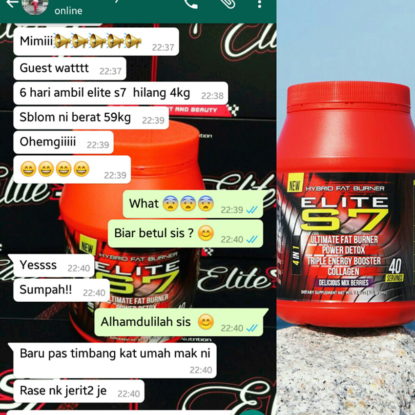 elite s7 burner de grăsime bahaya