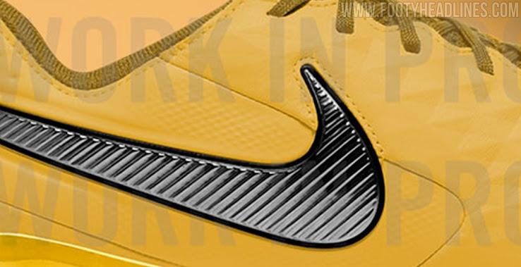 Electropositivo absorción Contratación  Gold / Black Nike Tiempo Legend VIII 2021 Boots Leaked - Footy Headlines