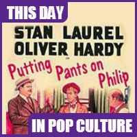 Laurel and Hardy's first film was released on December 3, 1927.