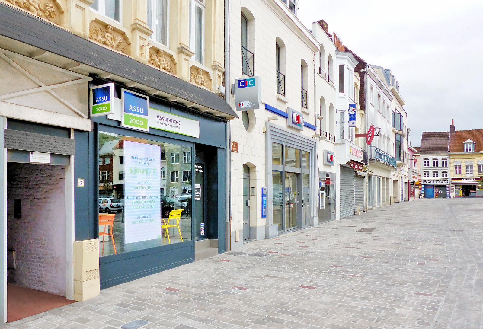 Maison des 4 Saisons - Entrée vers la Ruelle des Madrilles - Tourcoing.