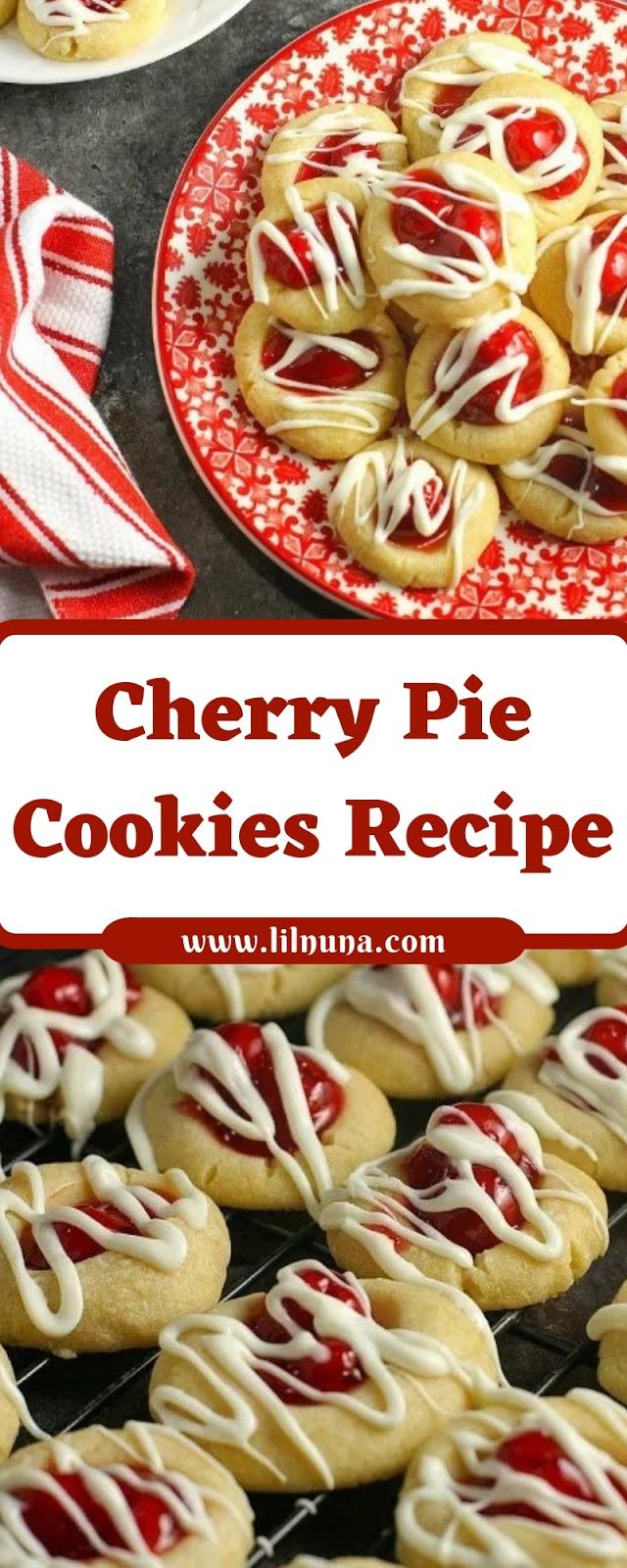 Cherry Pie Cookies Recipe