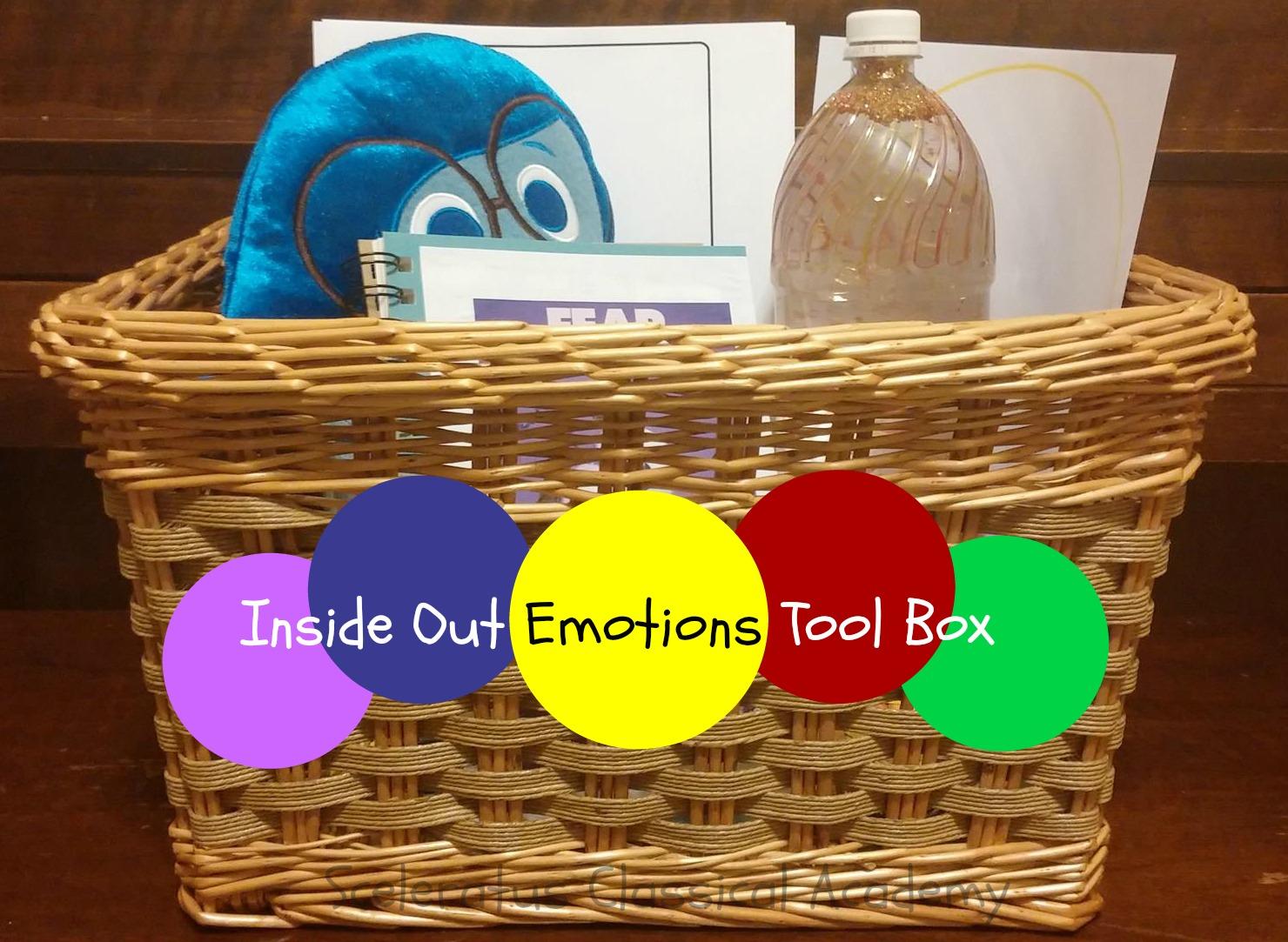 Sceleratus Classical Academy Inside Out Emotions Tool Box