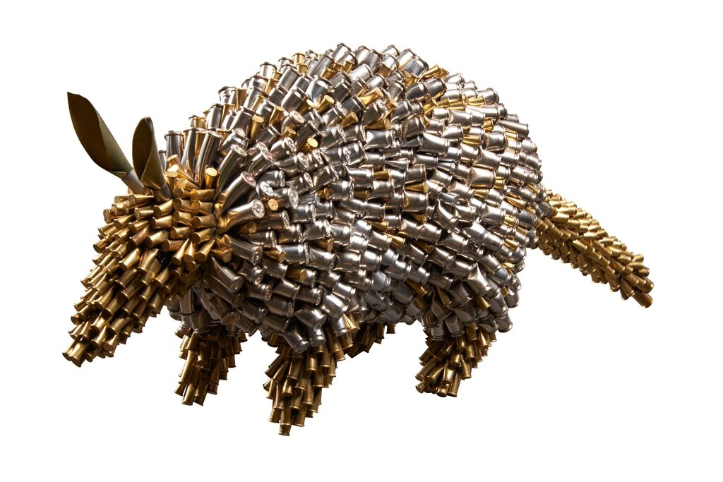 06-Armadillo-Federico-Uribe-Killing-it-with-Bullet-Animal-Sculptures-www-designstack-co