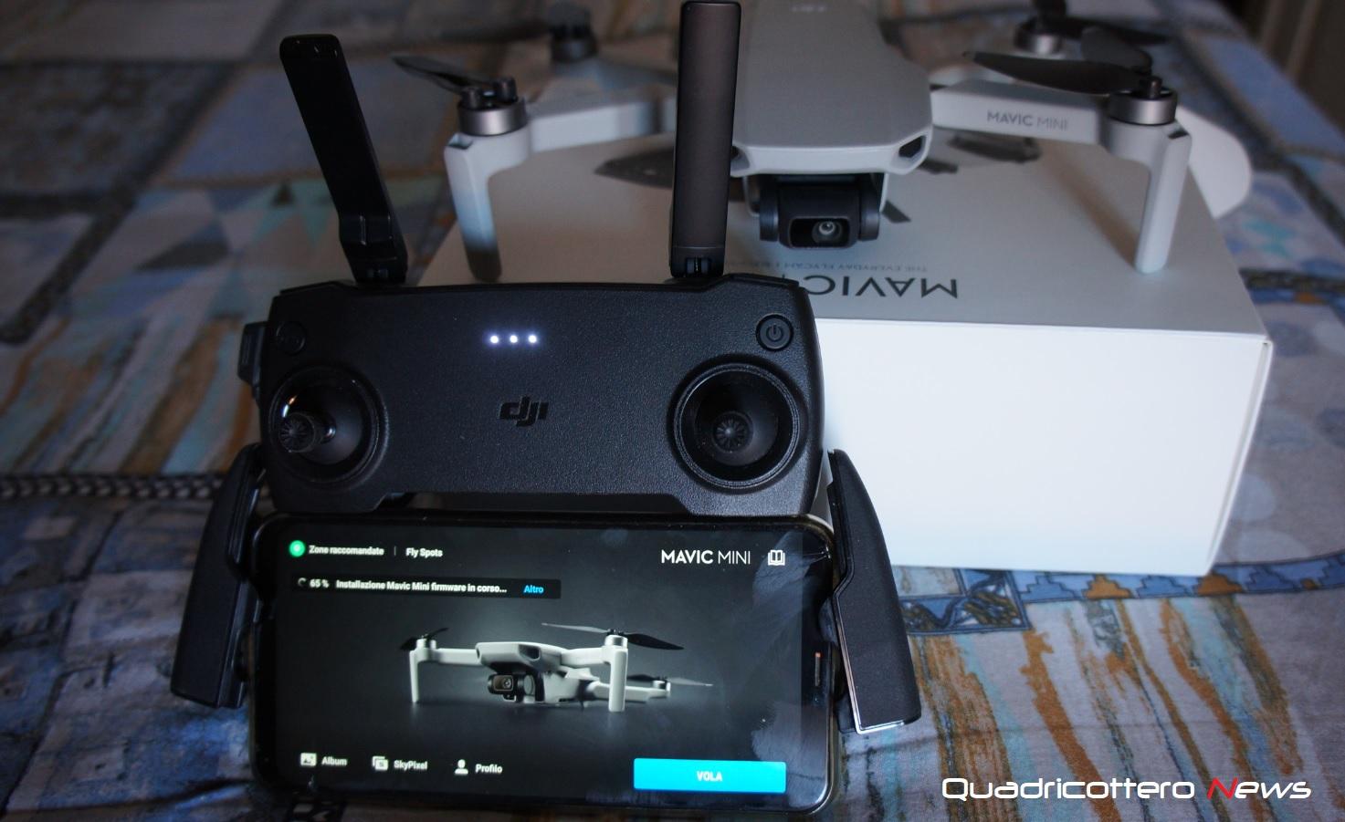 Dji Mavic Mini Con Il Nuovo Aggiornamento Diventa Un Drone Piu Cinematografico Quadricottero News