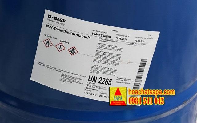 Dimethylformamide (DMF) của BASF, hàng chuẩn Đức