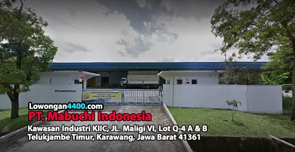 Lowongan Kerja PT. Mabuchi Indonesia KIIC Karawang