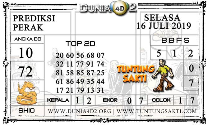 """Prediksi Togel """"PERAK"""" DUNIA4D2 16 JULI 2019"""