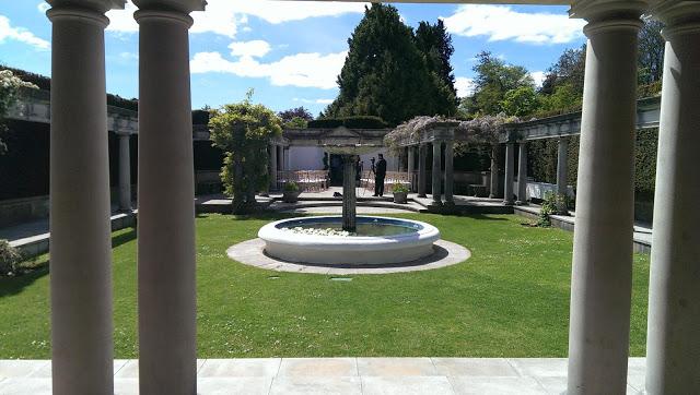 Dyffryn Gardens, the Pompeii gardens