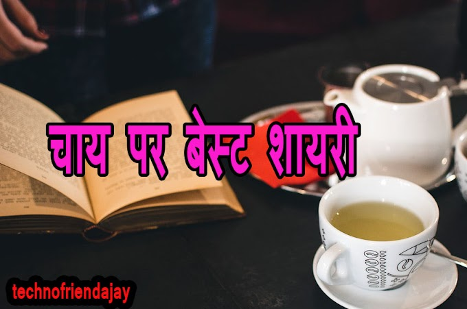 चाय पर बेस्ट शायरी,Best shayari on tea