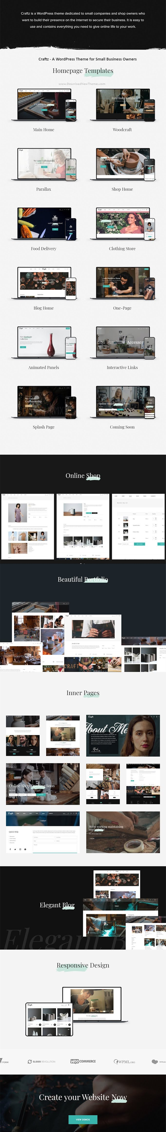 WordPress Theme for Small Business Owners