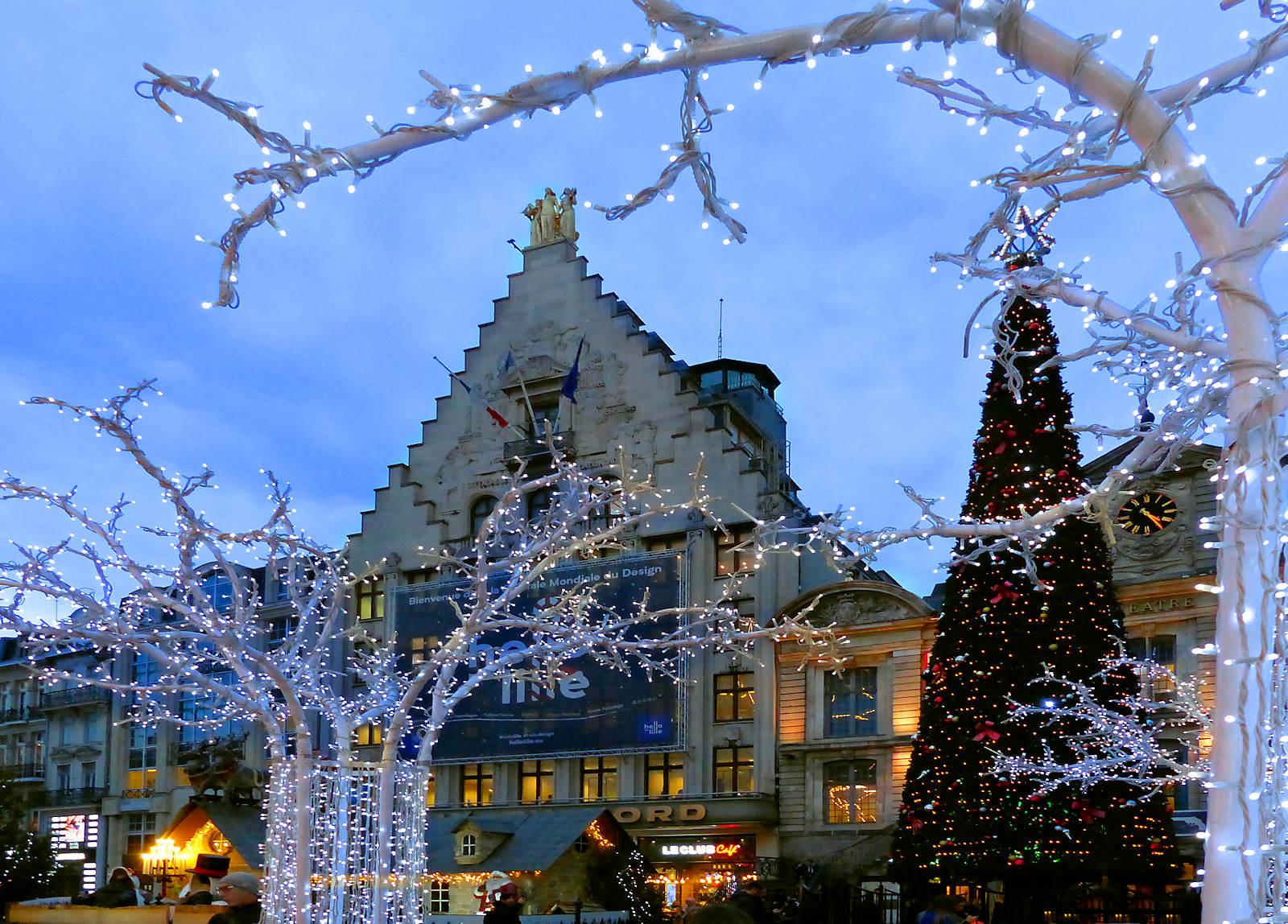 Grand Place - Lille Noël 2019