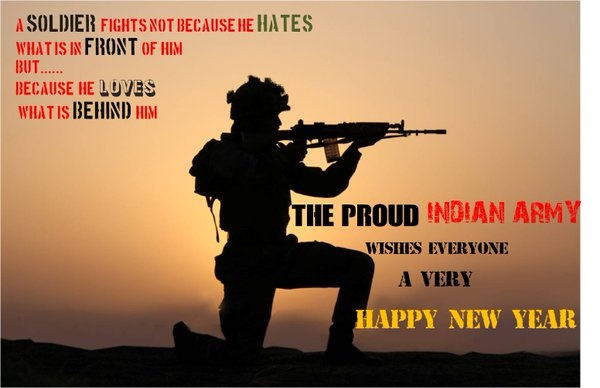 New Year 2017 Indian Army