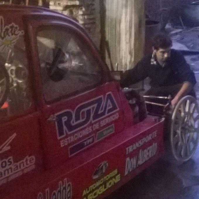 Martin Calamante con motores de Tito Durante