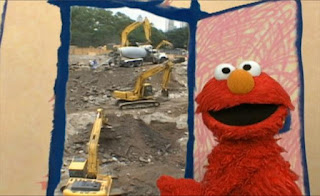Guess What Elmo's Thinking About Today. Sesame Street Elmo's World Building Things