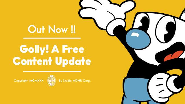 cuphead free content update mugman playable character 2019 q1 pc mac xbox one run and gun game studio mdhr