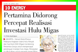 Pertamina Encouraged to Accelerate the Realization of Upstream Oil and Gas Investment