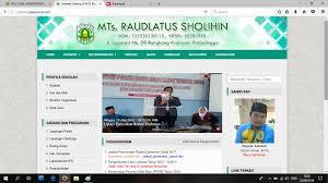 Gambar Website profil sekolah