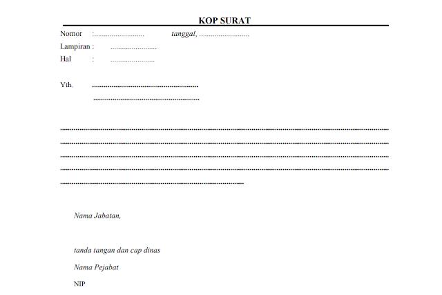 Contoh Surat Pengantar Dokumen dari Kepala Sekolah