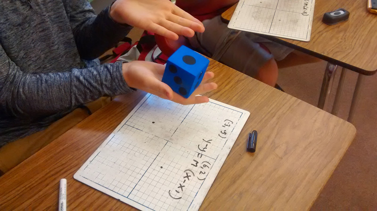 Math love rolling dice for point slope form and desmos awesomeness thursday february 26 2015 falaconquin