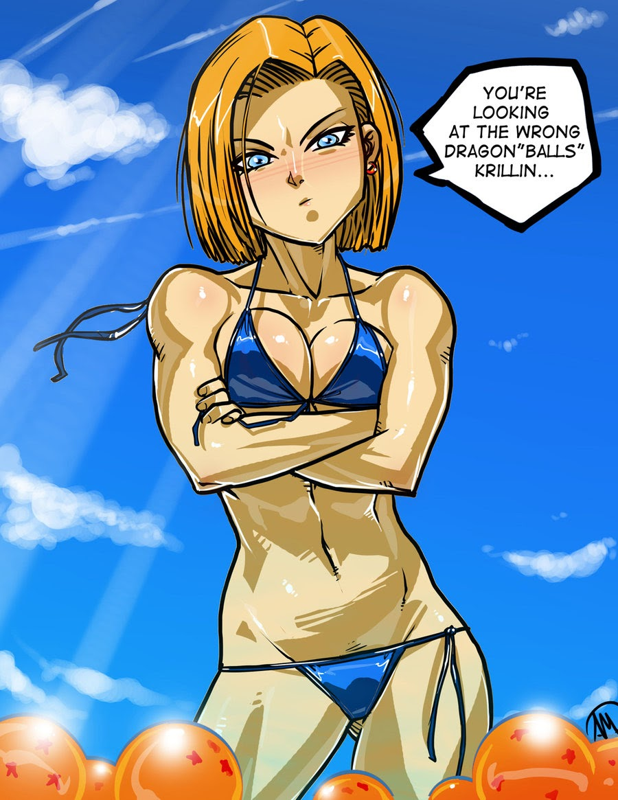 hot android 18