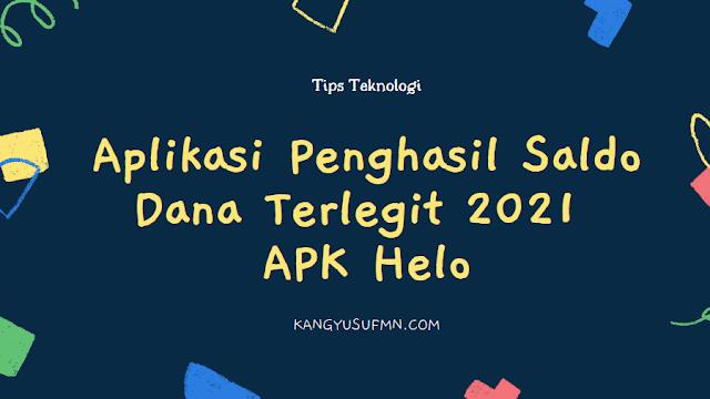Apk Penghasil Saldo Dana Terlegit 2021 Tercepat