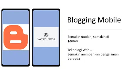 Bagaimana caranya blogging sepenuhnya menggunakan hape atau ponsel Android