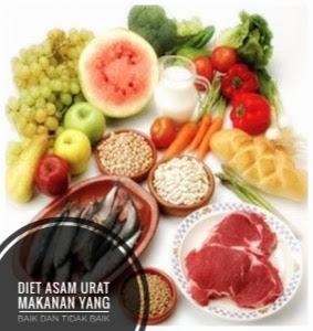 Makanan yang baik dan tidak baik untuk asam urat
