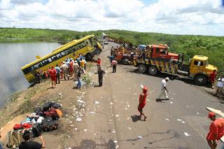 Maior tragédia do Ceará nos últimos tempos envolvendo ônibus em Barro completa 16 anos