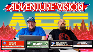 Adventure Vision - Super Cobra, Turtles, Defender, And Space