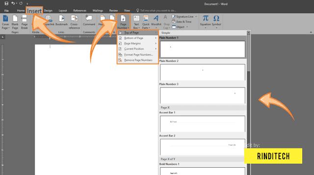 Cara Menambahkan Halaman di Word Microsoft Office Lengkap!