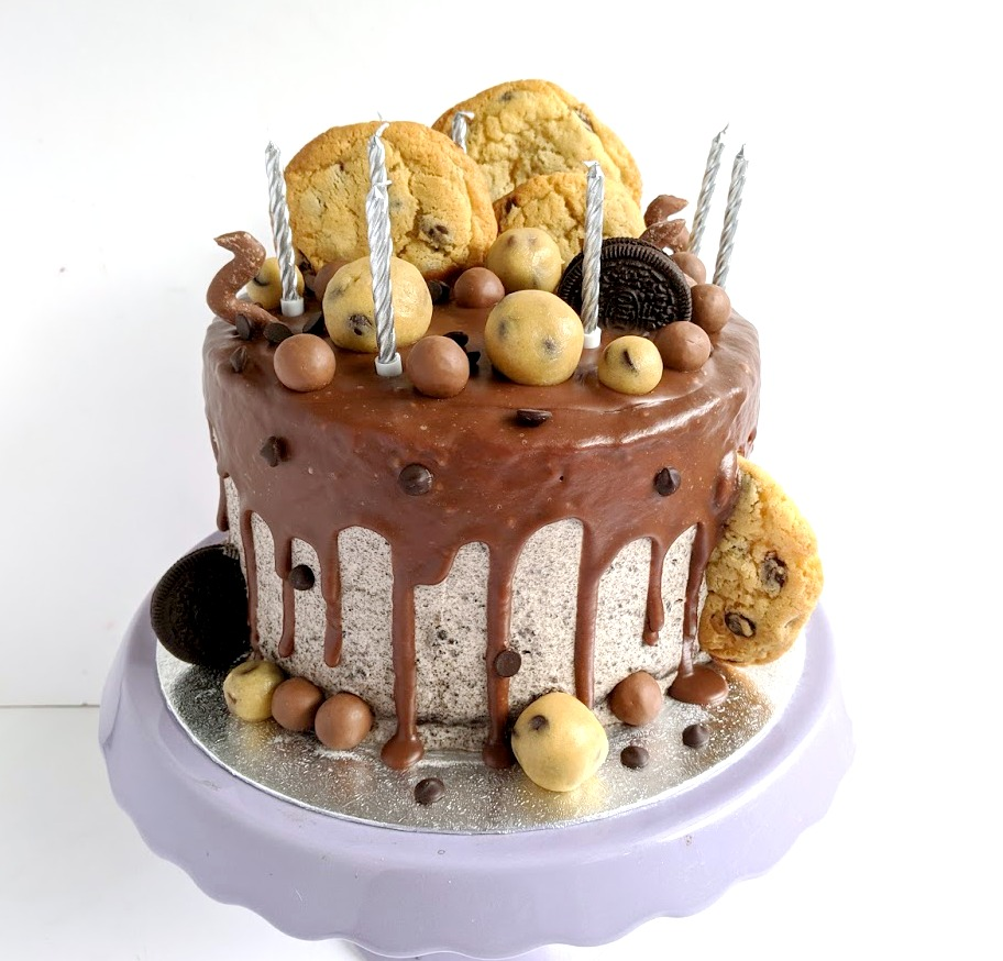 Stupendous My Sugar Coated Life Cookie Dough Birthday Cake Funny Birthday Cards Online Alyptdamsfinfo