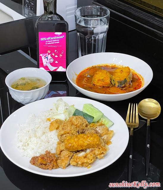 foodpanda JomMakan, Ayam Geprek Fryerzone Rice, Asam Pedas Tenggiri, Sedap Malam Signature, foodpanda, foodpanda promo code, foodpanda delivery, food