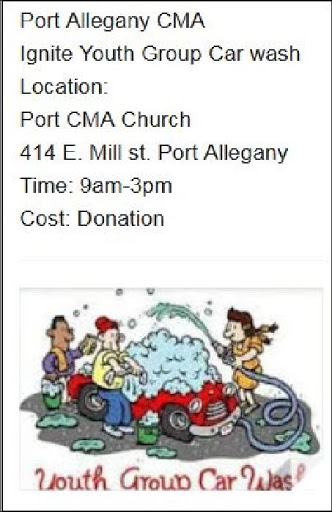 7-24 Youth Group Car Wash, Port Allegany, PA