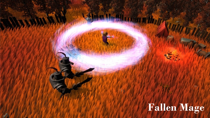 Fallen Mage Game Free Download Poster