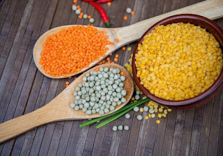 Beans, Peas Legumes and Lentils high in uric acids
