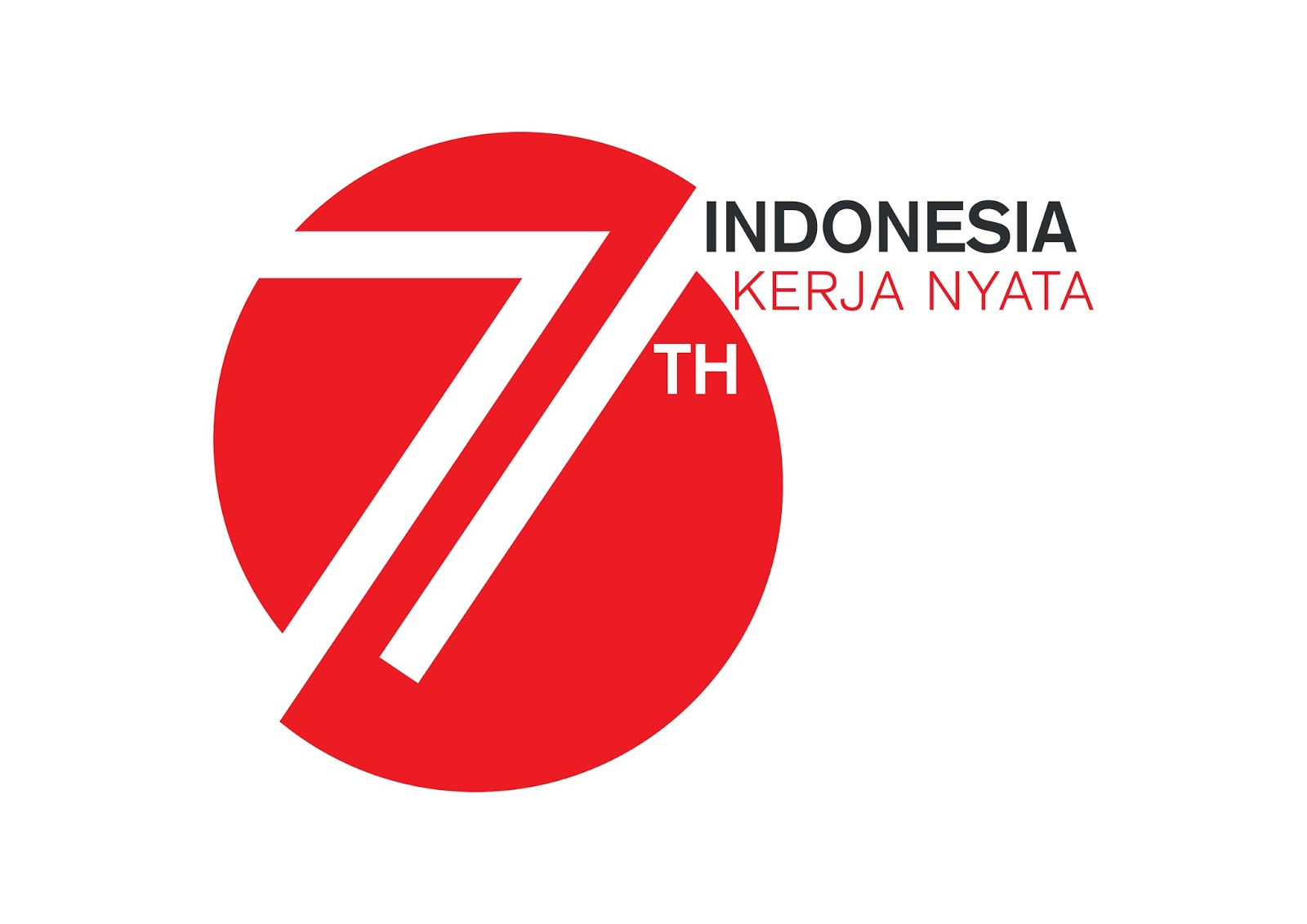 Image of HUT Republik Indonesia KE-71 KERJA NYATA