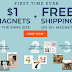 10 Custom Photo Magnets Only $10 + Free Shipping