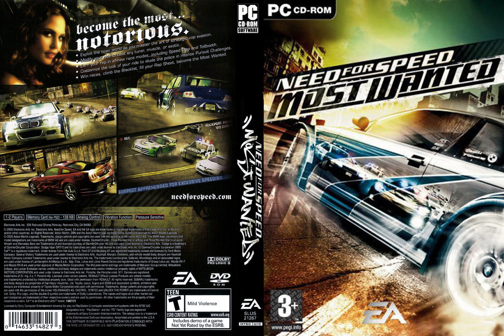 NFS PC GAME: Need for Speed Most Wanted PC Full Version Download