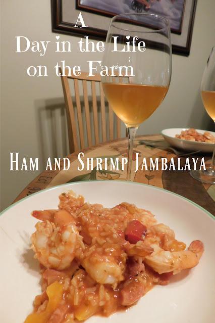 Ham and Shrimp Jambalaya pin