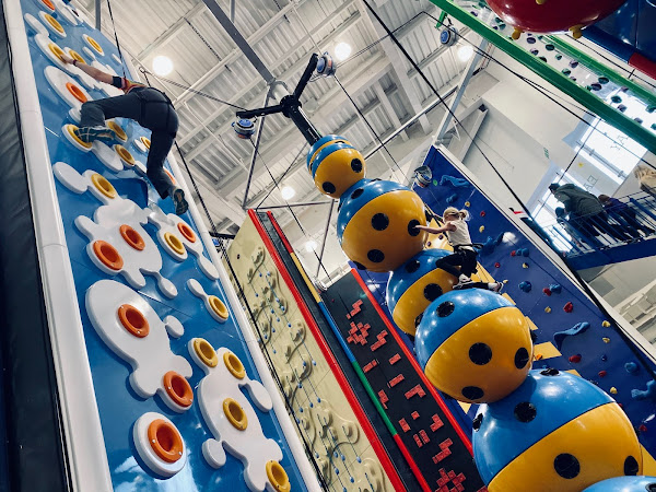 Review: Rock Up Climbing Walls At Lakeside, Essex