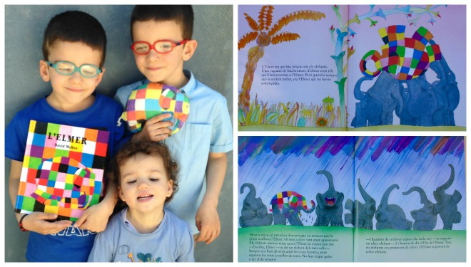 libro infantil elmer, cuento diversidad, tolerancia, respeto diferencias