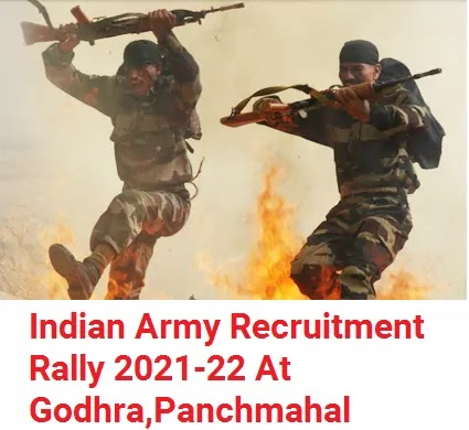 Indian Army Recruitment 2021-22 At Godhra, Panchmahal
