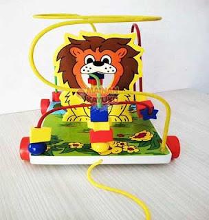 Mainan Edukatif TK PAUD Wire Singa